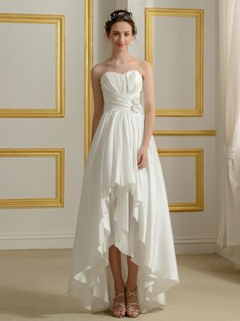 Ericdress High Quality Asymmetry Wedding Dress