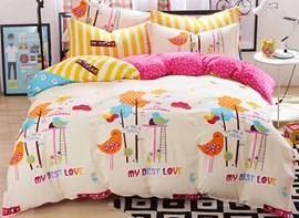 Ericdress Rainbow Kingdom Kids Bedding Sets