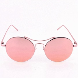 Ericdress Street Round Reflective Sunglasses