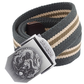 Ericdress Men's Weaved Canvas Automatic Belt