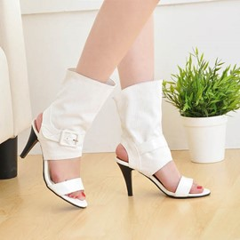 Ericdress Cool Buckles Stiletto Sandals