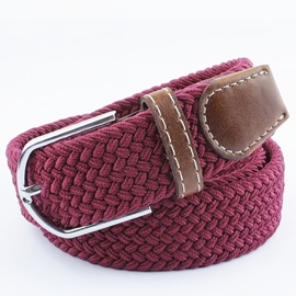 Ericdress Breathable Handmade Weaved Belt For Men