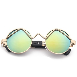 Ericdress Vintage Letter Design Sunglasses