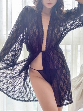 Ericdress Lace See-Through Nightwear