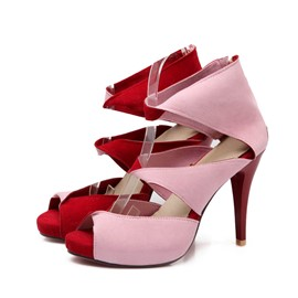 Ericdress Charming Cut Out Stiletto Sandals