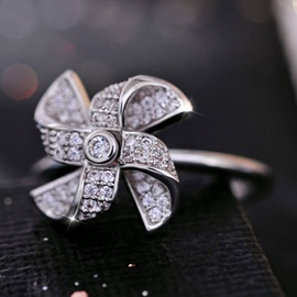 Ericdress Lovely Windmill Promise Ring