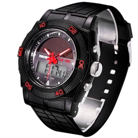 Ericdress Solar Energy Sport Digital Watch For Men