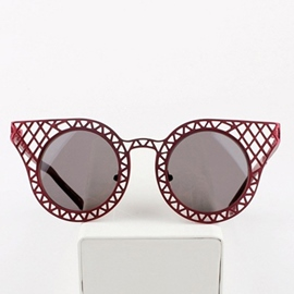 Ericdress Mesh Design Cat Eye Sunglasses