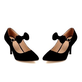 Ericdress Lovely Suede Point Toe Pumps