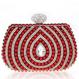 Ericdress Beaded Water Drop Clutch
