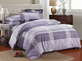 Ericdress Vintage Carving Flower Cotton Bedding Set