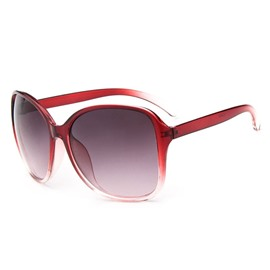 Gradient Big Frame Sunglasses