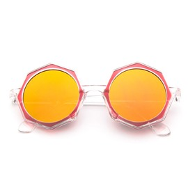 Ericdress Octagon Shape Reflective Sunglasses