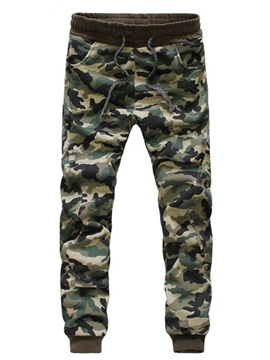 Ericdress Camouflage Printed Casual Men's Pencil Pants