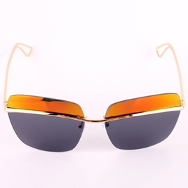Ericdress No Frame Iridescent Sunglasses