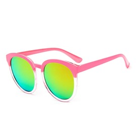 Ericdress Vintage Iridescent Big Frame Sunglasses