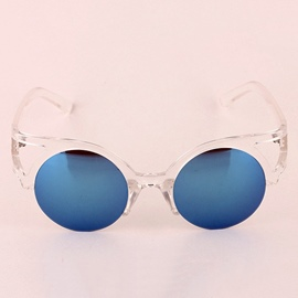 Ericdress Personality Plastic Frame Reflective Sunglasses