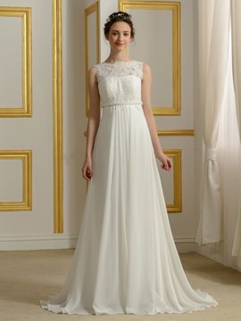 Ericdress Casual Empire Chiffon Wedding Dress