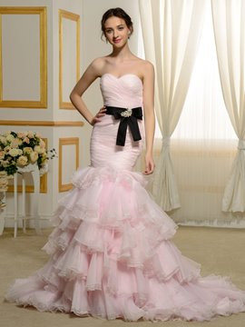 Ericdress Brautiful Color Mermaid Wedding Dress