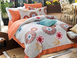 Ericdress Flowers Bloom Cotton Bedding Sets