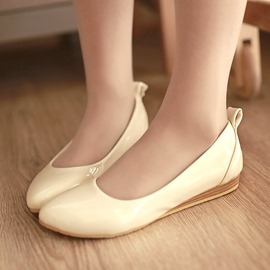 Ericdress Spring Patent Leather Flats