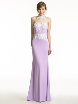 Ericdress Charming Halter Mermaid Bridesmaid Dress