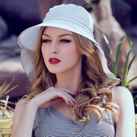 Ericdress Classic Embroidery Cycling Sunhat