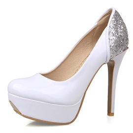 Ericdress Sequins Patchwork Pumps