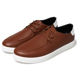 Ericdress Trendy Pu Men's Casual Shoes