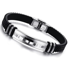 Ericdress Korean Style Titanium Steel Men's Bracelet