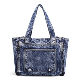 Ericdress Trendy Denim Handbag