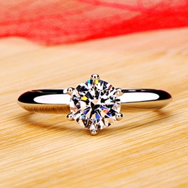 Ericdress Temperament Wedding Diamond Ring