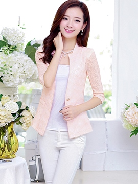 Ericdress Sweet Lace Blazer