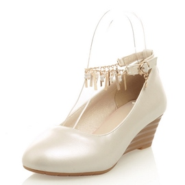 Ericdress Metal Tassels Decorated Wedges