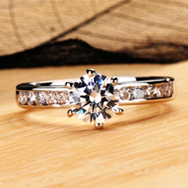 Ericdress Classic Handmade Diamond Ring