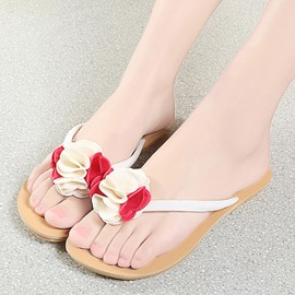 Ericdress Bohemian Flower Clip Toe Slippers