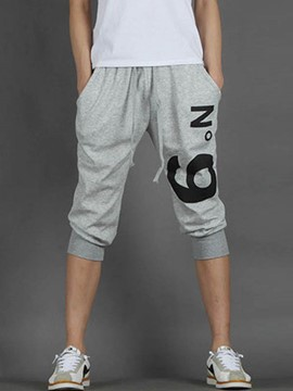 Ericdress Letter Printed Casual Men's Shorts