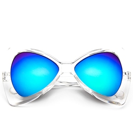 Ericdress Bowknot Design Reflective Sunglasses