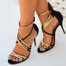 Ericdress Cross Strap Stiletto Sandals