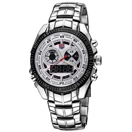 Ericdress Trendy Round Dial Men's Watch