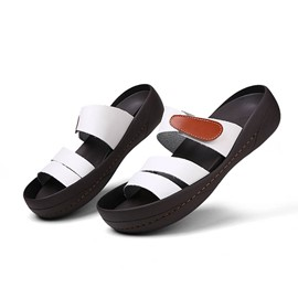 Ericdress PVC Men's Beach Slippers