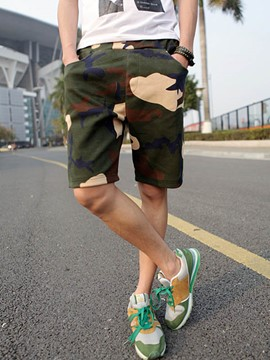 Ericdress Camouflage Casual Loose Men's Shorts