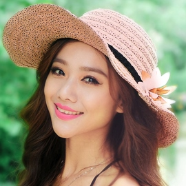 Ericdress Outdoor Lace Bowknot Sunhat
