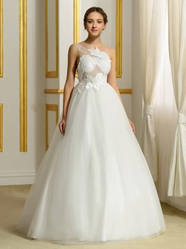 Ericdress Sexy Ball Gown Backless Wedding Dress