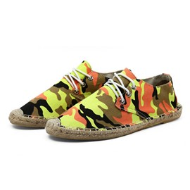 Ericdress Camouflage Lace-Up Athletic Shoes