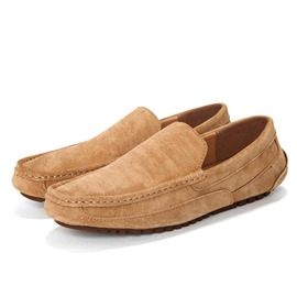 Ericdress Suede Thread Slip-On Men's Loafers