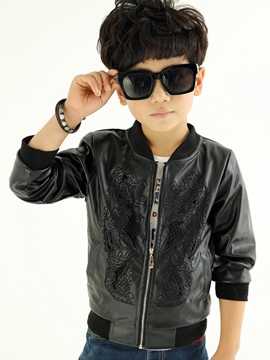 Ericdress Plain Hollow Boys Jacket