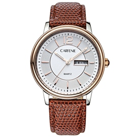 Luminous Calendar Quartz Leather Watch