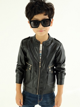 Ericdress Plain Zipper Boys Jacket
