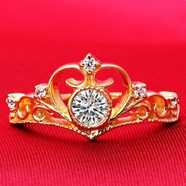 Ericdress Exquisite Vintage Crown Ring